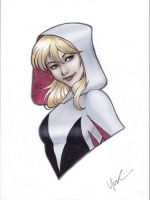 Spider-Gwen Portrait by Protokitty