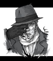 Rorschach by Shiroho-Art