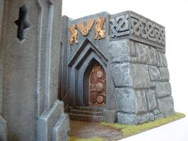 Dwarf mine entrance by clevella