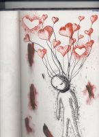 hang me by my love balloons by Sindella