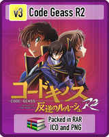 Code Geass R2 v3 Anime Icon by amirovic