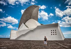 Tenerife Auditorium (Santa Cruz) by BenHeine