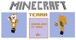 MINECRAFT: Terra Skin Pics. by TheLupineOne