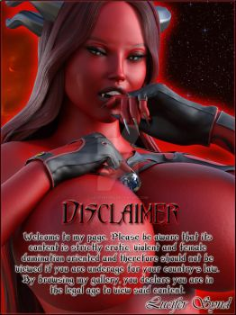 Lilith - New Disclaimer by LuciferSynd