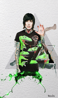 BMTH DINOSPLASH by Kosmiks