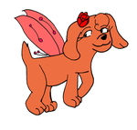 Lottie the fairy-dog by Aso-Designer