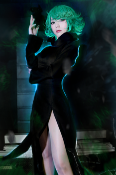 one punchman Tatsumaki by ekiholic