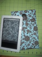 Brown Roses Nook Cover Case by Celtic-Dragonfly