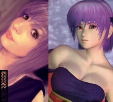 ~ the girl of hundreds faces of DEAD OR ALIVE ~ by axouel2009