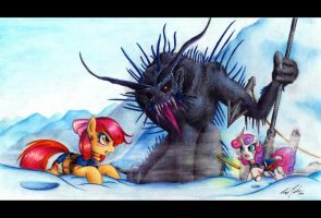 Let The Sleeping Giants Lie by LavosVsBahamut