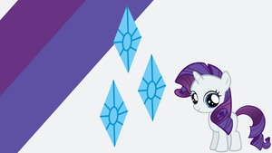 - Filly Rarity Wallpaper - by Ponyphile