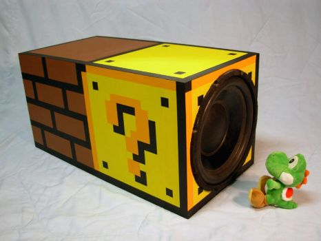 Super Mario Subwoofer by risu-san