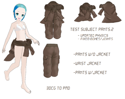 MMD- Test Subject Pants -DL by MMDFakewings18