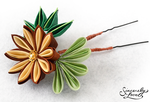 Pine Forest Kanzashi by SincerelyLove