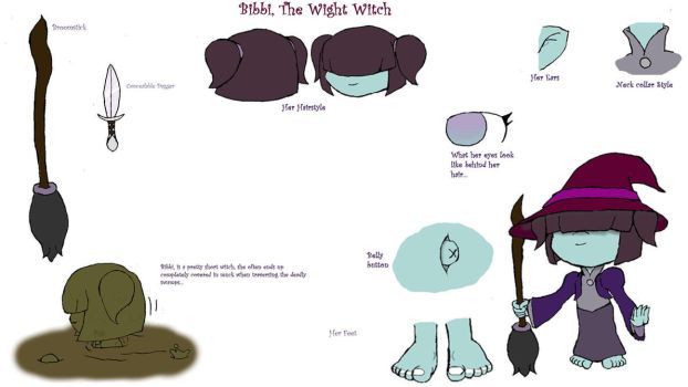 Bibbi the Wight Witch by Basher-the-Basilisk