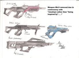 Star Fox Salvation modified weapons 8 by BlackKnife12