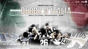 Derby D'Italia wallpapers by Nucleo1991