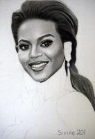 Drawing Beyonce 8 by Sivine