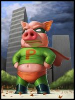 SUPERPIG by Nico4blood