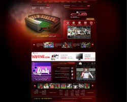 FOOTBALL WEBSITE by is007lam