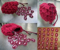 Deep Maroon Soft Rune Kit by user-name-not-found