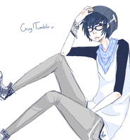 GuyTumblr by crumbledcupcake