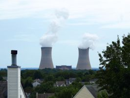 Nuclear Power Plant 9 by Dracoart-Stock