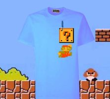 T for Tees: Super Mario Bros. by sdws