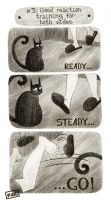 Pluses of owning a cat: +3 by zumart