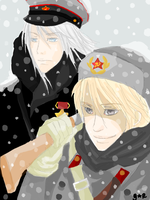 APH: Russian Winter by GiselleRocks