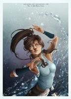 The Legend of Korra by KaelaCroftArt