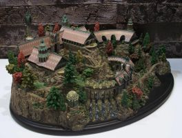 Weta Lord of the Rings - Rivendell Environment 3 by Minas-Tirith-Hakan