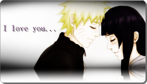 NaruHina Sign : I love You by JessiHinata