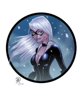 BlackCat for Joey by redeve