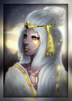 Golden Archon Princess by Sphyrnax