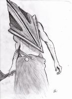 pyramid head by xXxSILLYxBERRYxXx