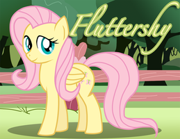 Fluttershy by Xain-Russell