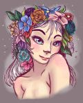 Flower Crown by Nine-Tailed-Fox