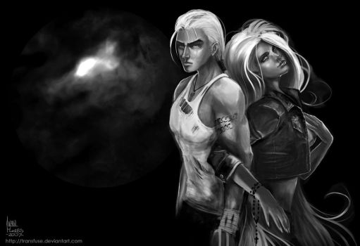 Caleb and Juliana by transfuse