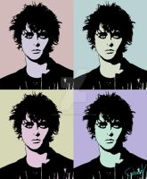 Billie Joe Armstrong Pop Art by Sabaku-no-Chente