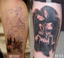 My Bram Stokers Dracula Tattoo by Nordictat2girl