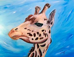 West African Giraffe by dx