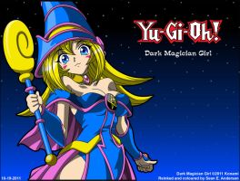 Dark Magician Girl Wallpaper by TheRealSneakers