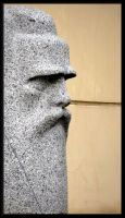Stone face... by Yancis