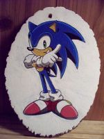 Sonic The Hedgehog Wood Round Complete by johnlewisbrooks