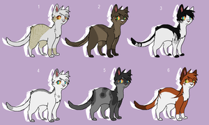 Cat Adopt Batch 4 CLOSED by ToRu-Adopt