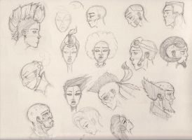 Lunchtime sketches by Rafferty-Eggleston