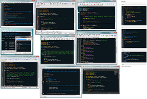 Plastic Code Wrap Theme - for over 10 editors by joedf