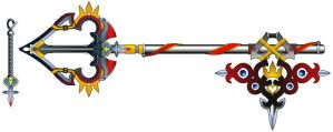 Sora's New Keyblade by suburbbum
