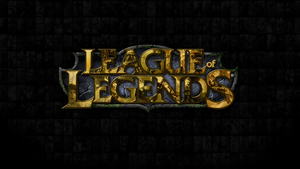 League of Legends Logo Wallpaper by CreateMyIntro